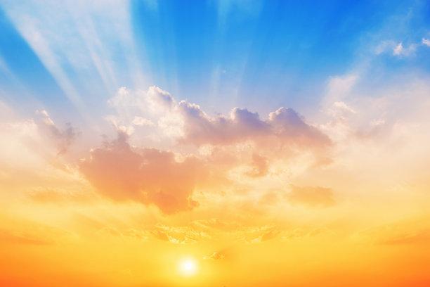 天空,背景,水平画幅