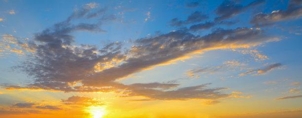 天空,色彩鲜艳,平流层