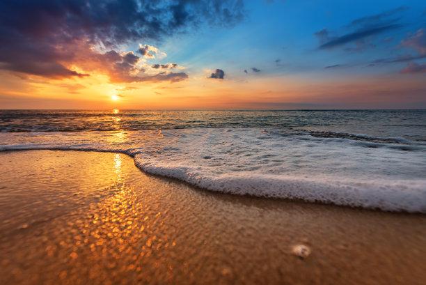 海景,自然,自然美