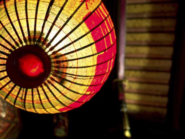 灯笼,亚洲,风