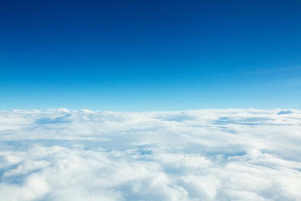 云天空在上面