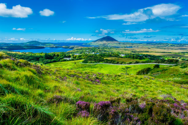 康尼马拉爱尔兰共和国海岸线