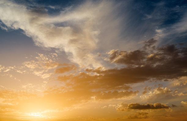 自然美,天空,水平画幅