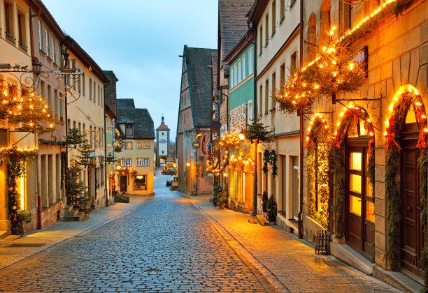 罗滕堡洛森堡乡村图片
