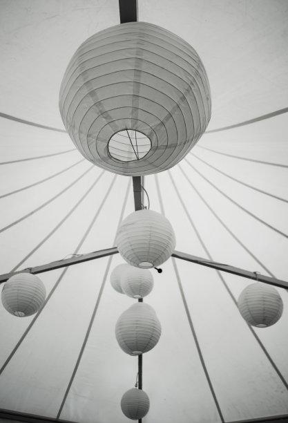 纸灯笼,垂直画幅,灯笼