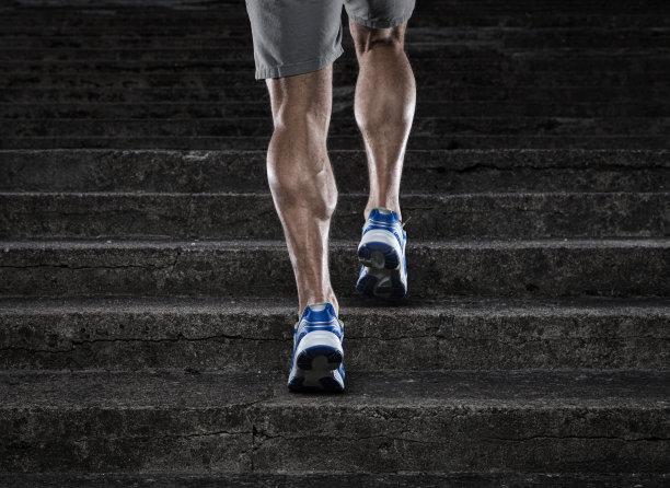 台阶奔跑运动