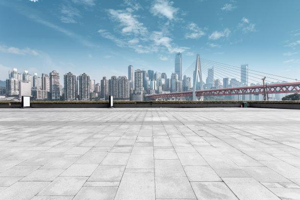 现代城市全景