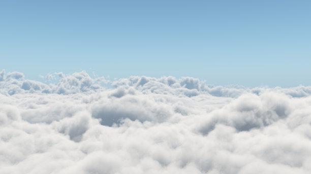 云在上面云景