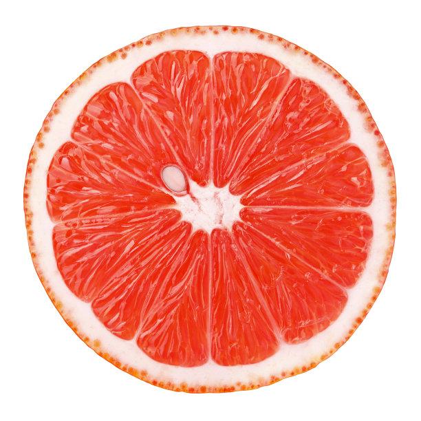 葡萄柚切片食物柑橘属