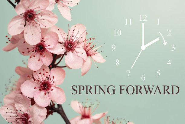 春天花朵装饰