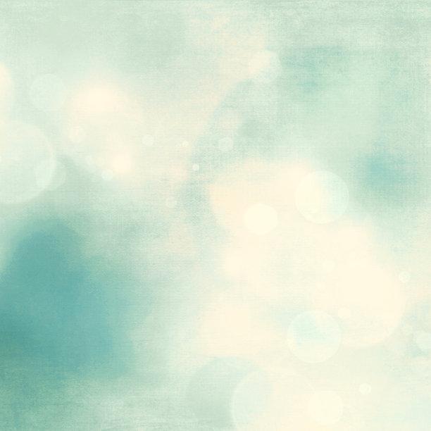 柔和清新蓝色