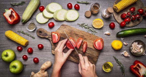 素食西红柿图片