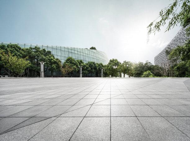 建筑业方形画幅广场