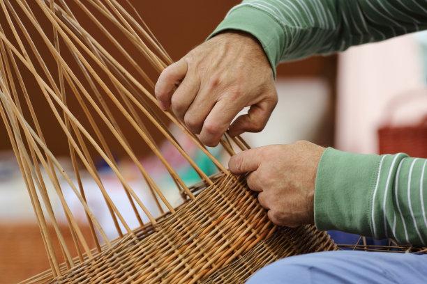 工匠篮子编篮子