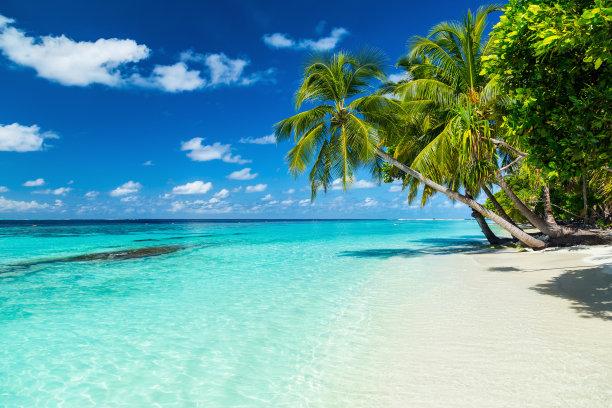 加勒比海天体海滩