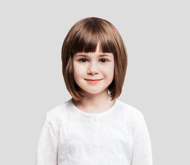 小女孩肖像