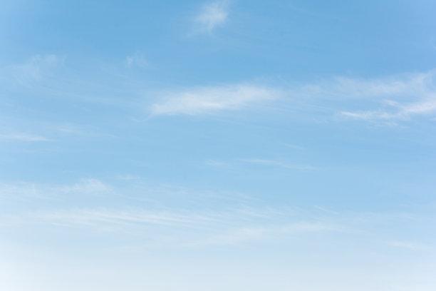 蔚蓝的天空
