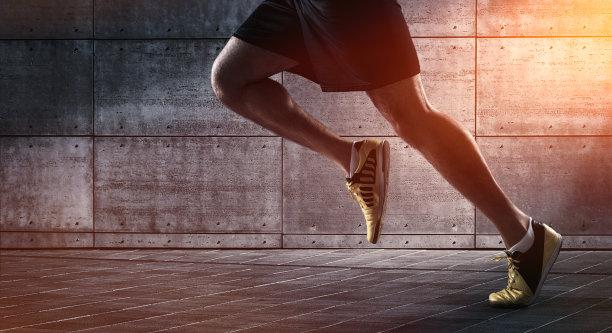 慢跑运动鞋图片