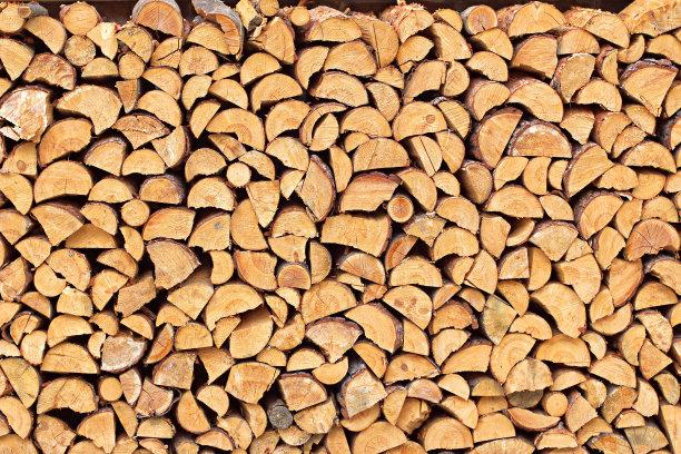 木制材料三只动物