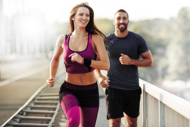 慢跑奔跑运动