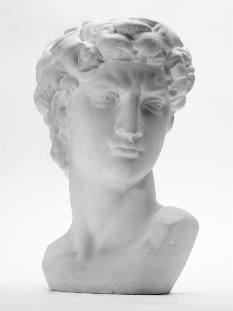 雕像米开朗其罗的大卫雕塑