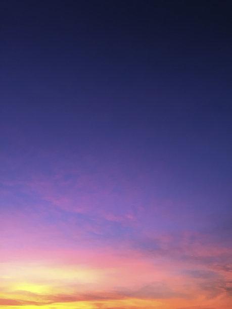 黎明,自然美,在移动设备上拍摄