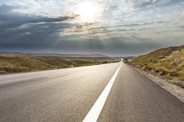 中国公路场景
