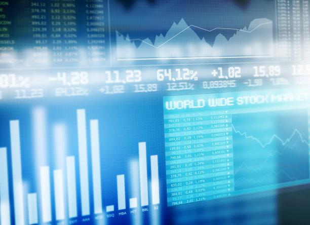 股票行情金融图片
