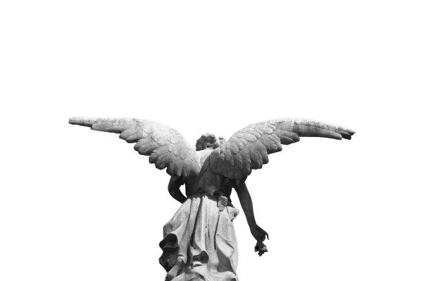 雕像翅膀天使