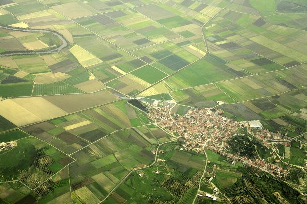 乡村自然美图片