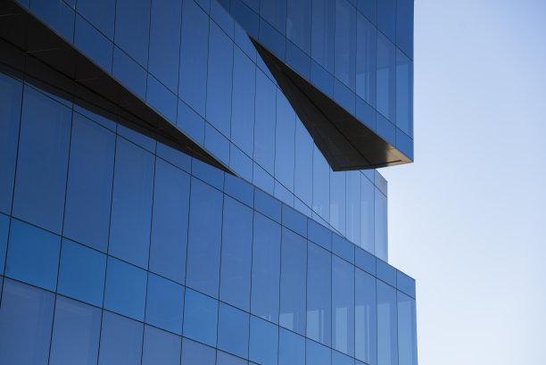 现代办公大楼幕墙