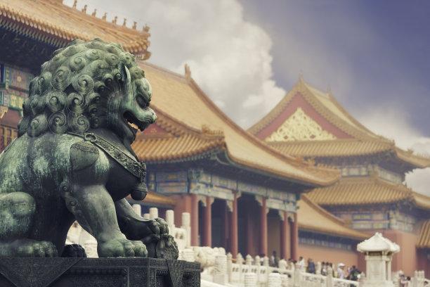 北京故宫老年人