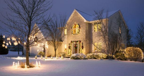 雪节日住房