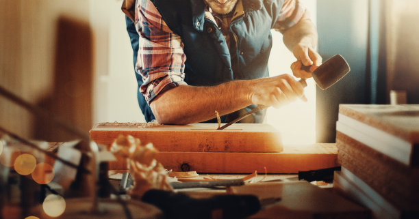 木工工作间摄影