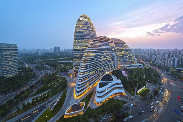 北京现代建筑