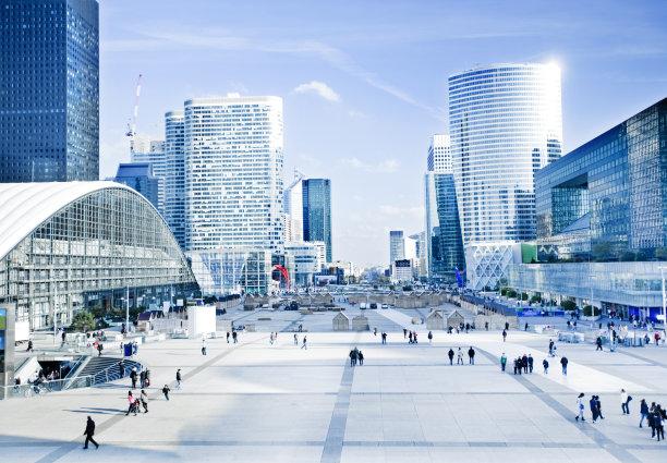拉德芳斯广场巴黎