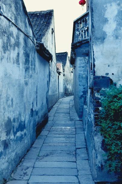 古典式巷周庄
