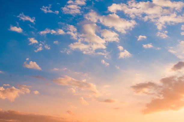天空,风,水平画幅