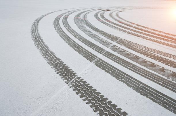 雪轮胎运动跑道