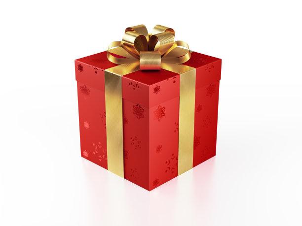 红色礼物盒