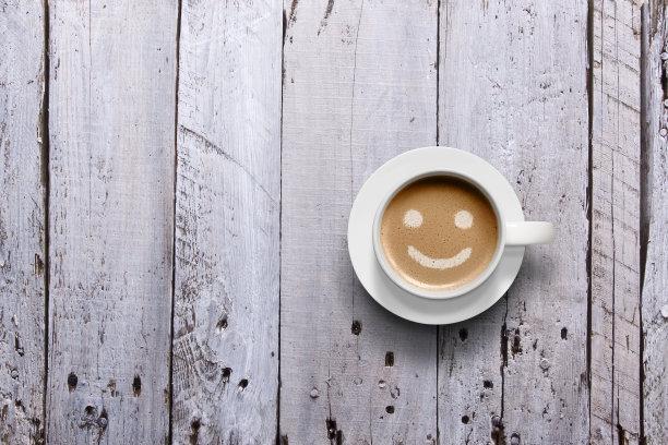 咖啡笑脸拉花