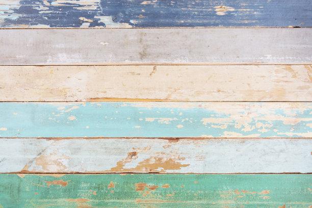 木制多色的纹理