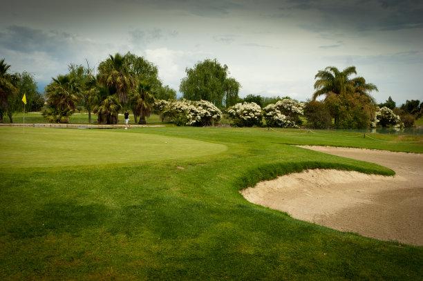 高尔夫球运动,西班牙,高尔夫练习场