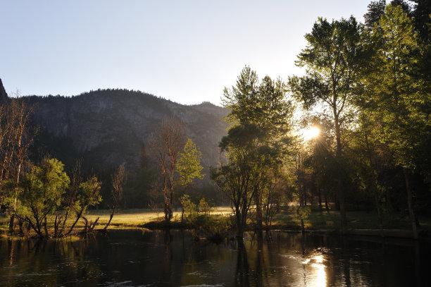 麦瑟德河,自然,风景