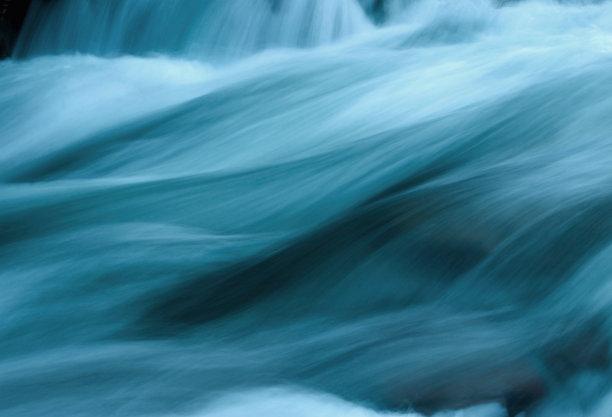 抽象流水河流