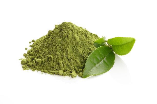 绿茶茶叶研磨食品