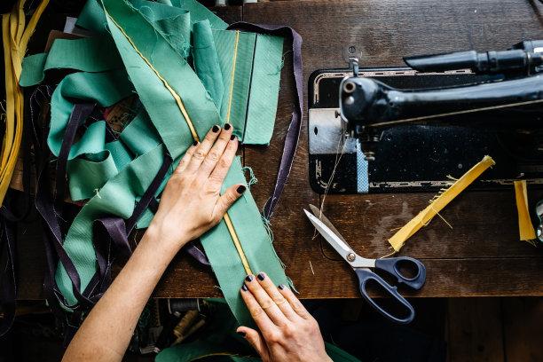 纺织品缝纫手