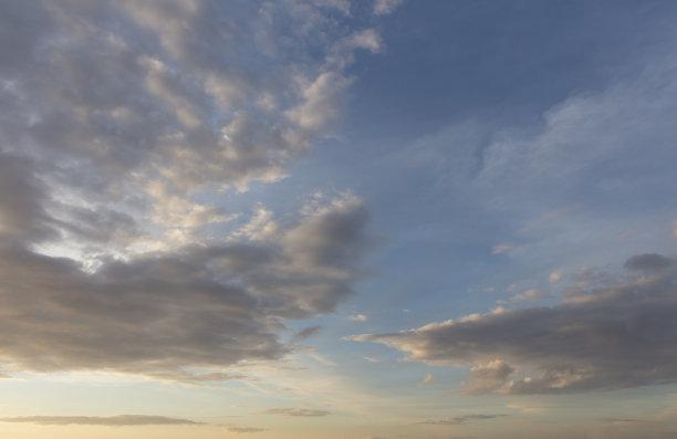 天空,黎明,背景
