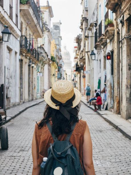 古巴哈瓦那女人