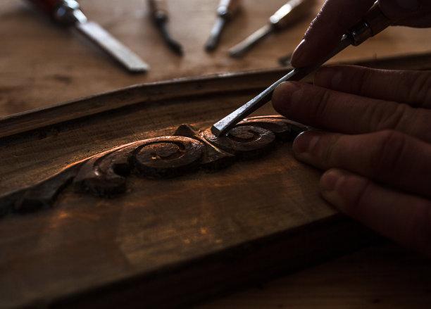家具过时的木工